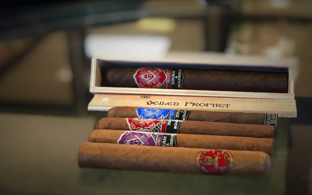 Hiram & Solomon Masonic Cigars are in Stock