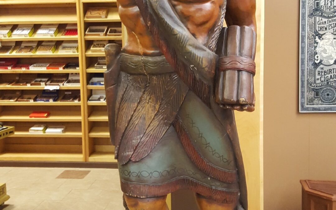 History of the Cigar Store Indian