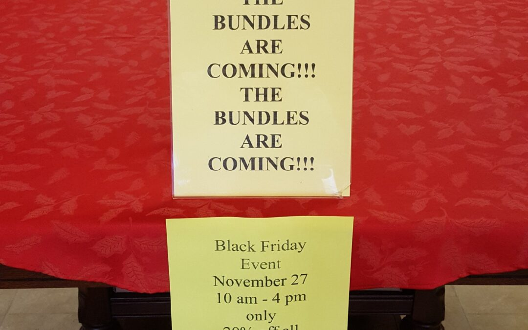 The Bundles Are Coming – Black Friday