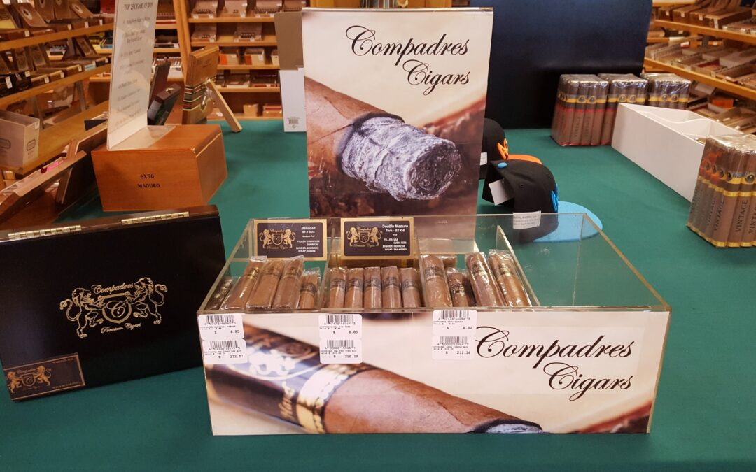 Compadres Cigars are now in stock