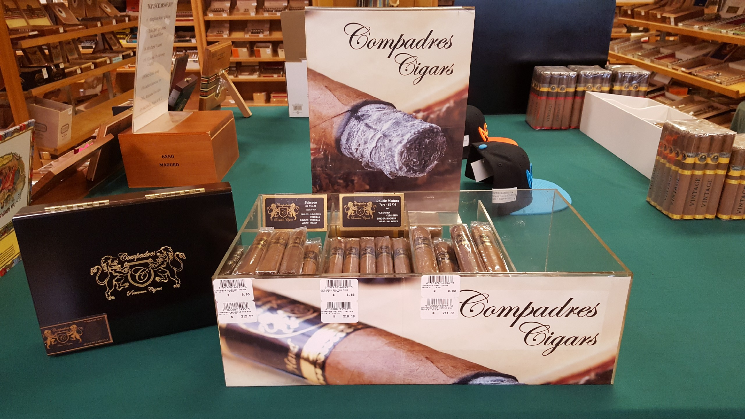 Compadres Cigars are In Stock at Cigar and Tabac ltd